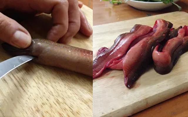 cách làm thịt lươn nấu cháo 2