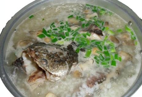 cách nấu cháo cá lóc bầu ngon