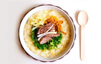 Ngon lạ miệng với cách nấu cháo vịt với đậu xanh