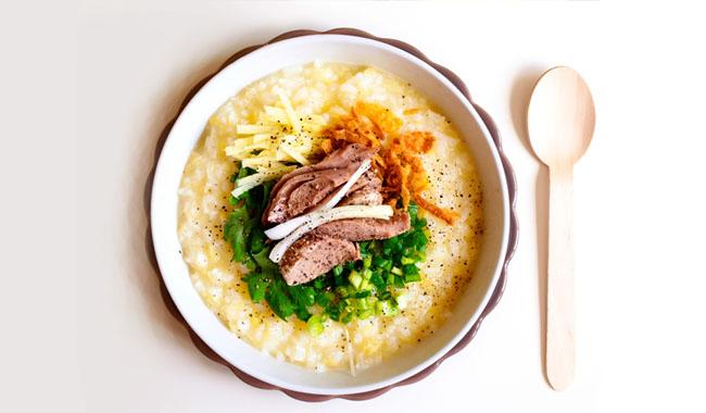 cách nấu cháo vịt với đậu xanh