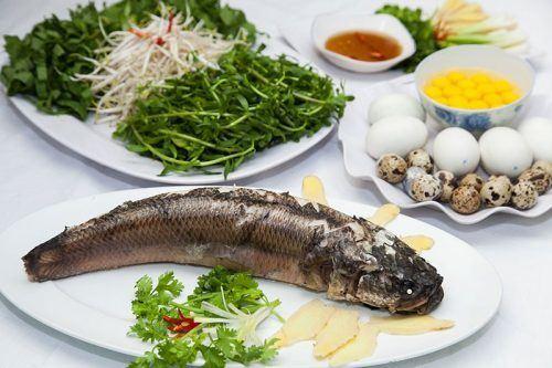 cách nấu cháo cá lóc không bị tanh