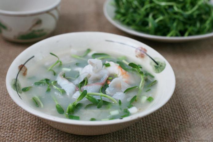 Bật mí cách nấu cháo cá lóc rau đắng siêu ngon và dễ