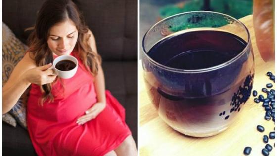 bà bầu có nên uống nước đỗ đen rang không