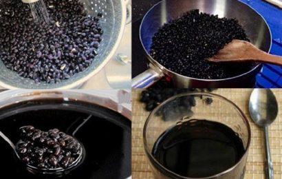 Cách làm trà đỗ đen rang tốt cho sức khỏe và sắc đẹp