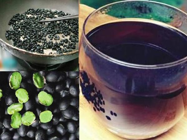 công dụng của nước đậu đen rang