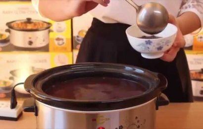 Cách nấu chè đỗ đen bằng nồi áp suất nhanh nhừ, hấp dẫn