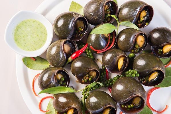 các món ăn từ ốc bươu vàng ngon