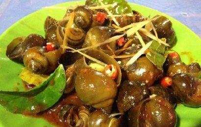 Cách làm món ốc nhồi xào sả ớt đổi vị cho bữa cơm gia đình