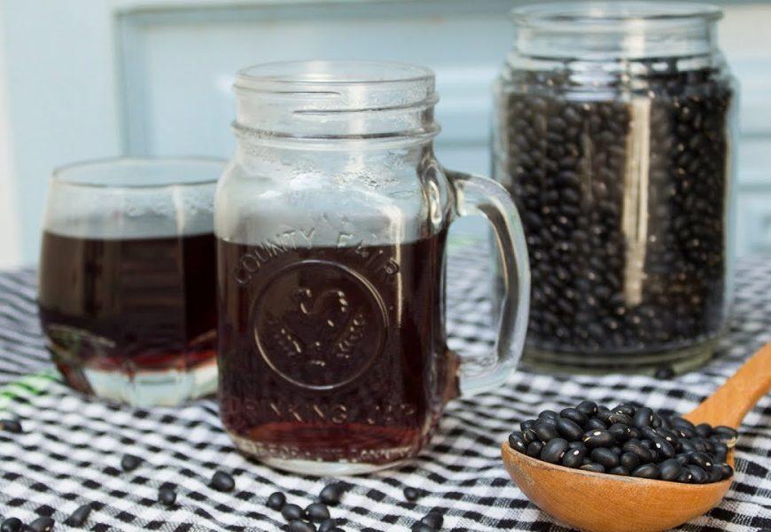 Cách làm đỗ đen rang hãm nước uống tốt nhất cho cơ thể